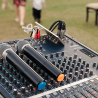 outdoor sound system rentals