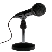 table top microphone for events