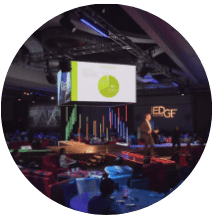 event production stage design Cleveland