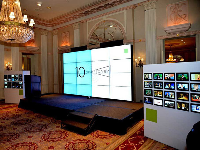 4x4 video wall rentals Seattle