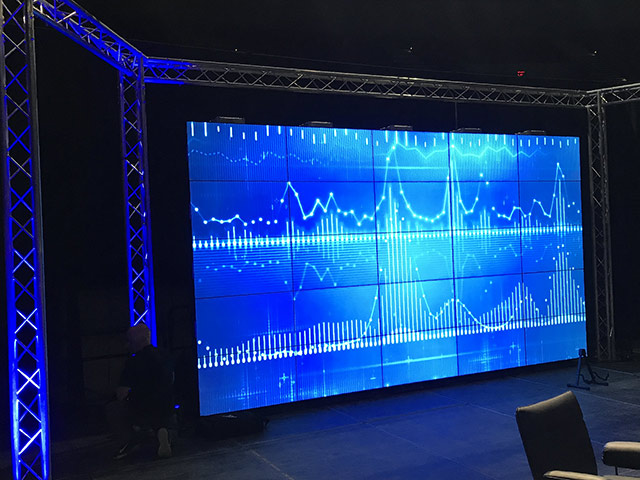 rent video wall for presentation San Diego