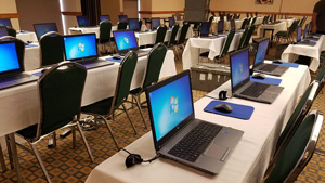 laptop rentals for events Raleigh