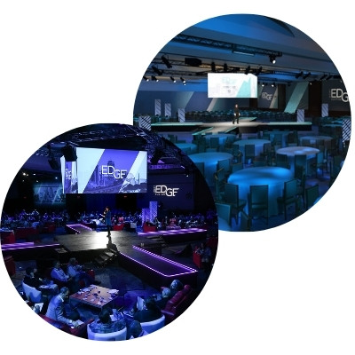 audio visual event production stage design